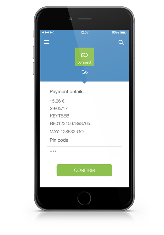 Digiteal payment details iphone