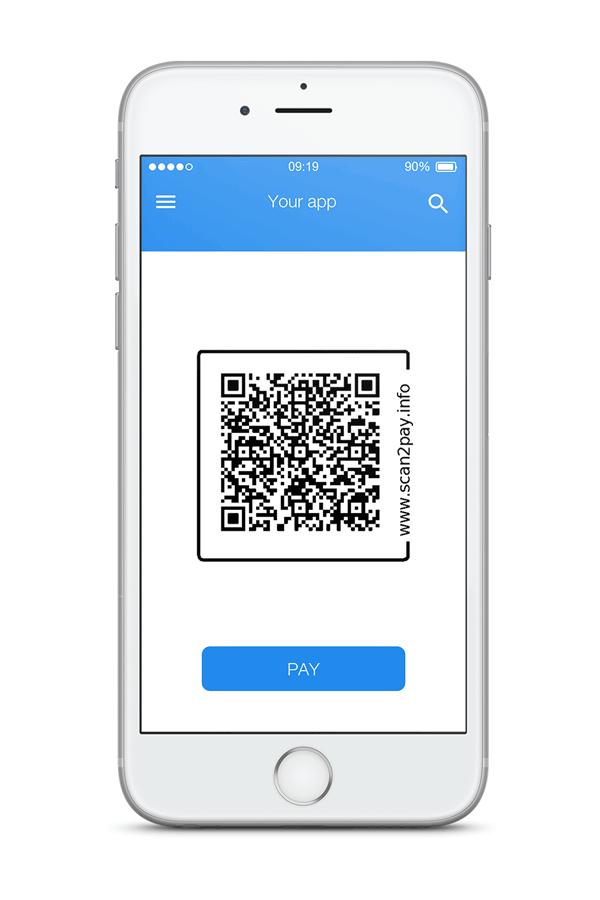 Scan2pay qr code
